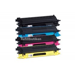 BROTHER TN135 4-pack lasertoner set kompatibla