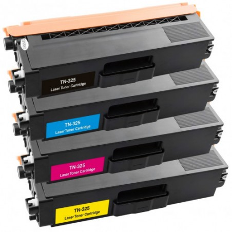 BROTHER TN325 lasertoner set kompatibla