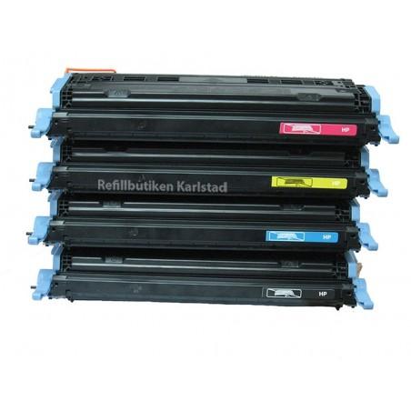 HP Q6000A Q6003A 4-pack lasertoner set kompatibla
