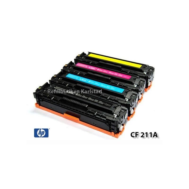 HP CF210X-CF213A lasertoner set kompatibla