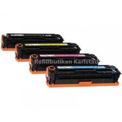 CANON 718 lasertoner set kompatibla