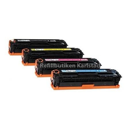 CANON 718 4-pack lasertoner set kompatibla