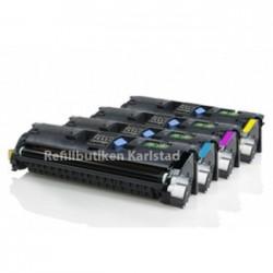 HP Q3960A-Q3963A lasertoner set kompatibla