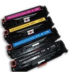 HP CE410X CE413A 4-pack  lasertoner set kompatibla