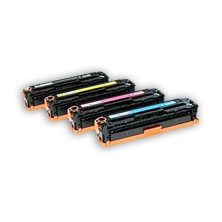 CANON 716 4-pack lasertoner set kompatibla