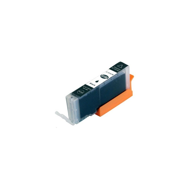 CANON CLI551XL fotosvart bläckpatron kompatibel