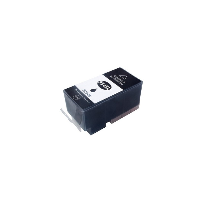 HP 934XL svart bläckpatron kompatibel