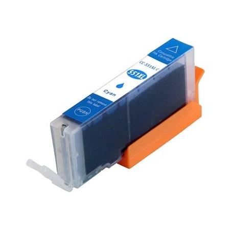 CANON CLI551XL cyan bläckpatron kompatibel