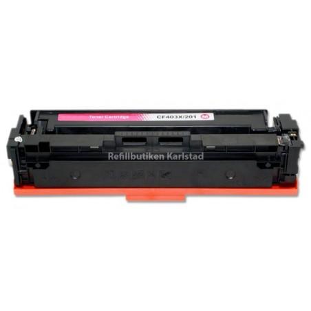HP CF403X magenta lasertoner kompatibel