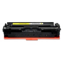 HP CF402X gul lasertoner kompatibel