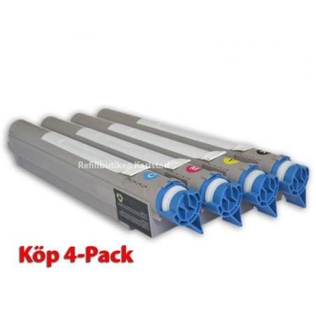 XEROX 106R01080 4-pack lasertoner set kompatibla