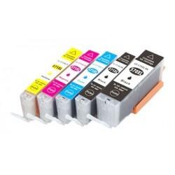 CANON CLI571XL 5 pack multipack bläck kompatibla