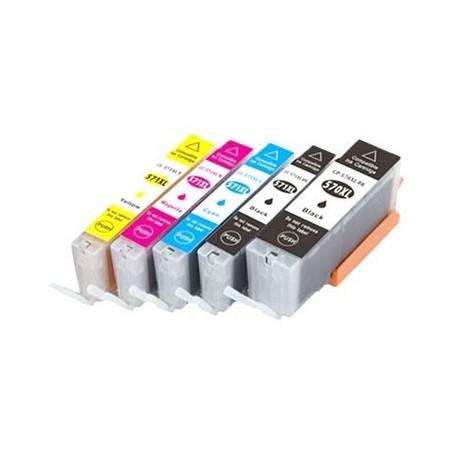 CANON CLI571 XL 5-pack bläckpatroner multipack kompatibla Rabatt!
