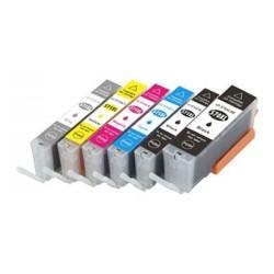CANON PGI570XL CLI571XL 6 pack multipack bläck kompatibla