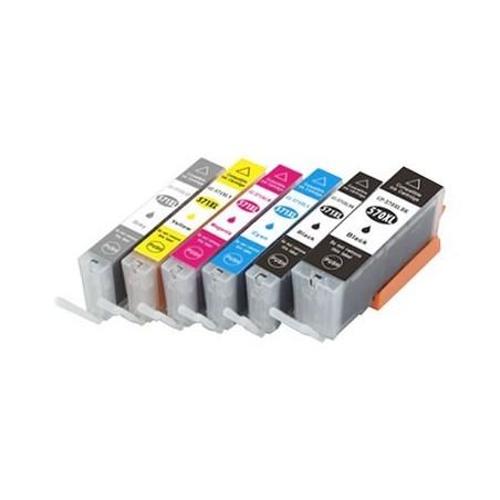 CANON CLI571XL 6 pack multipack bläck kompatibla