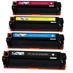 HP CE320A-CE321A lasertoner set kompatibla