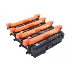 HP CE250X-CE253A lasertoner set kompatibla