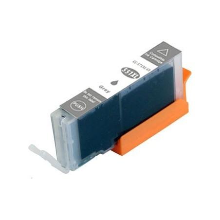 CANON CLI551 XL grå bläckpatron kompatibel