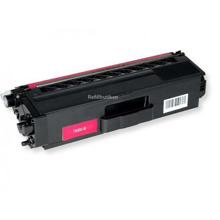 BROTHER TN900 magenta lasertoner kompatibel