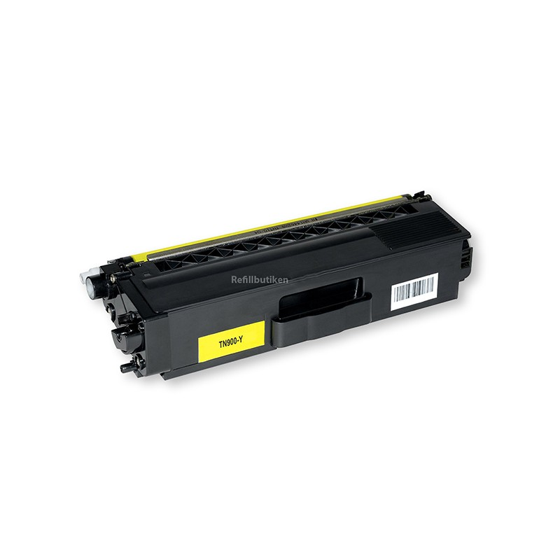 BROTHER TN900 gul lasertoner kompatibel
