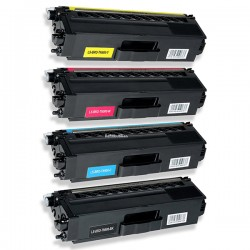 BROTHER TN900 4-pack lasertoner set kompatibla