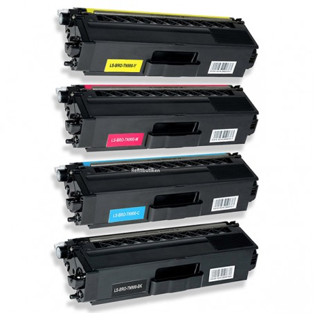 BROTHER TN900 lasertoner set kompatibla