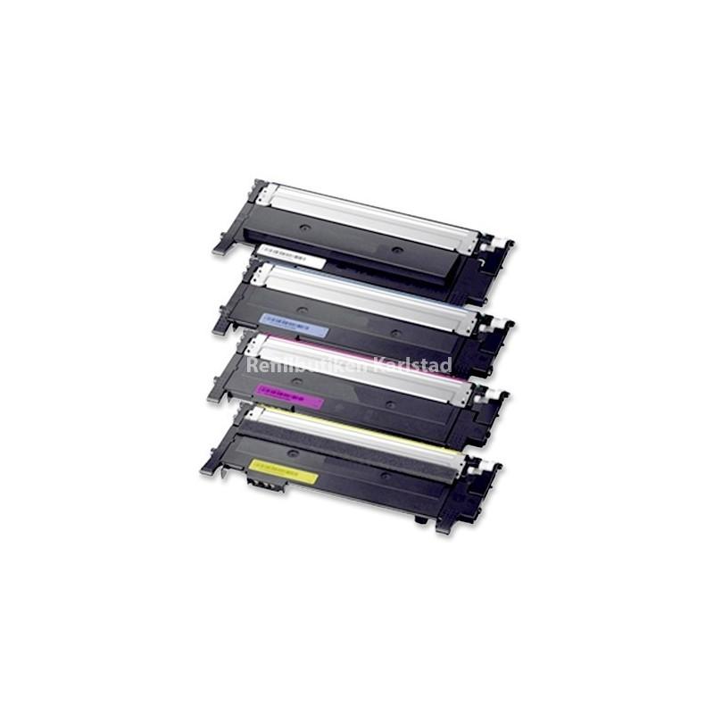 SAMSUNG CLTP404C 4-pack lasertoner set kompatibla