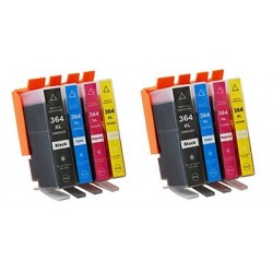 HP 364XL bläckpatroner multipack 8-pack kompatibla