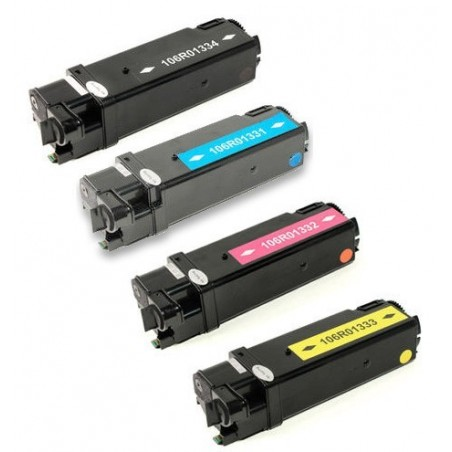 XEROX 106R01331 106R01334 4-pack lasertoner set kompatibla