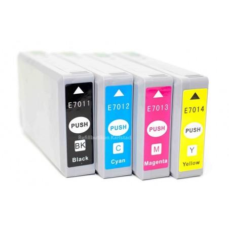 EPSON T7015 4-pack bläckpatroner multipack kompatibla