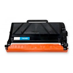 BROTHER TN3480 svart lasertoner kompatibel