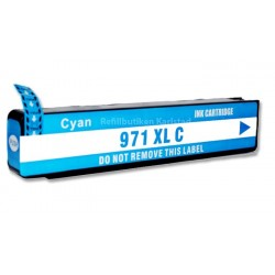 HP 971XL cyan bläckpatron kompatibel