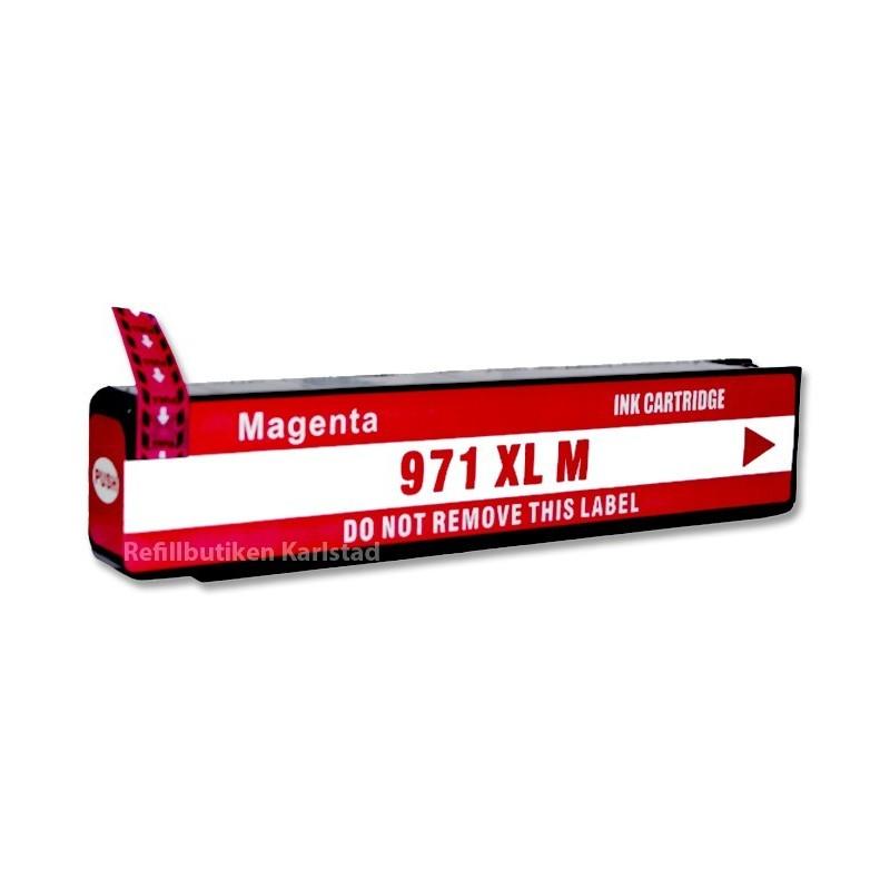 HP 971XL magenta bläckpatron kompatibel
