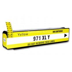 HP 971XL gul bläckpatroner kompatibel