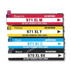 HP 970XL-971XL bläckpatroner multipack 4-pack kompatibla
