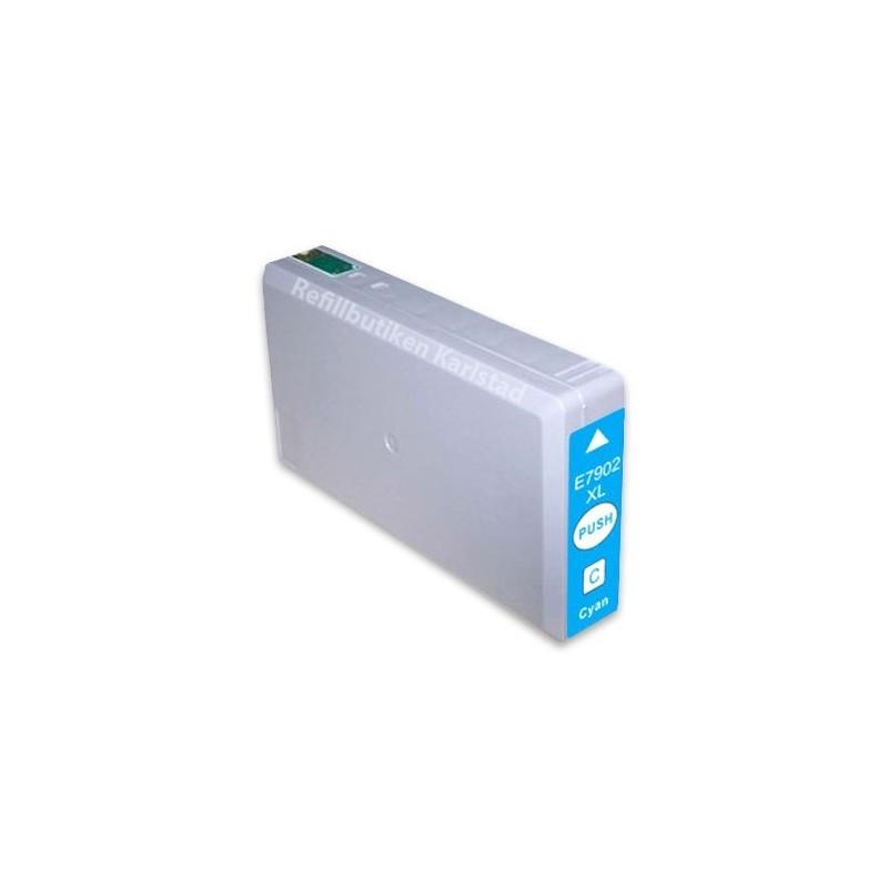 EPSON 79XL cyan bläckpatron kompatibel