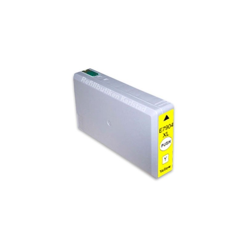 EPSON 79XL gul bläckpatron kompatibel