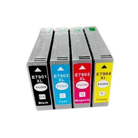 EPSON 79XL bläckpatroner multipack 4-pack kompatibla