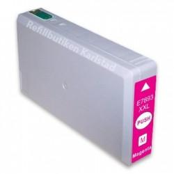 EPSON T7893XXL magenta bläckpatron kompatibel