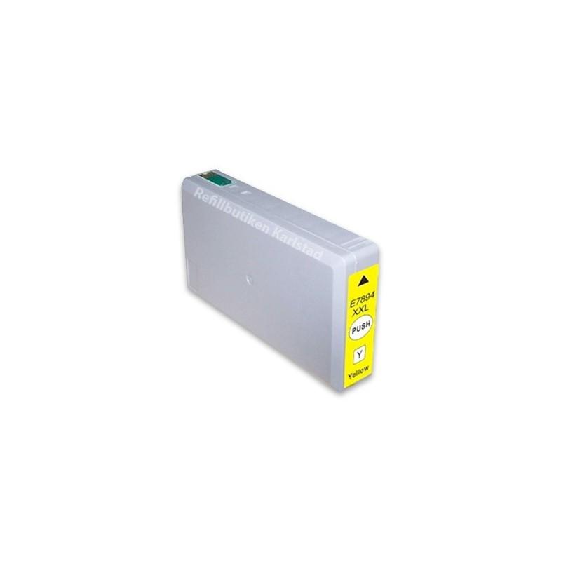 EPSON T7894XXL gul bläckpatron kompatibel