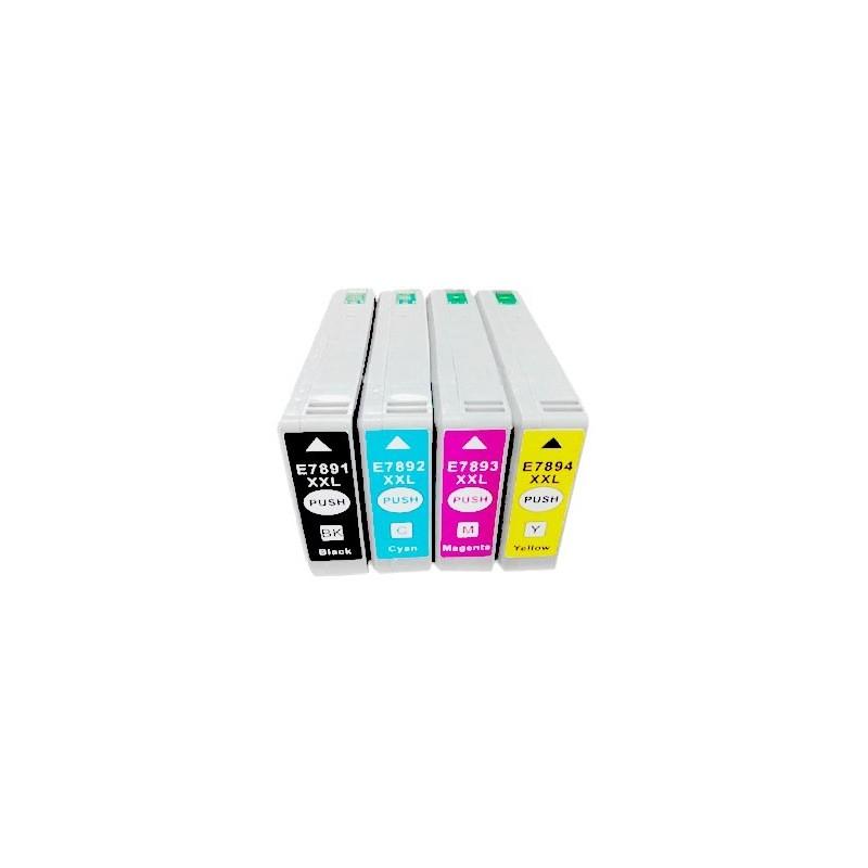 EPSON 78XXL bläck multipack 4-pack kompatibla