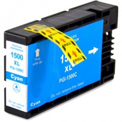 CANON PGI1500XL cyan bläckpatron kompatibel