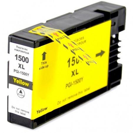 CANON PGI1500 XL gul bläckpatron kompatibel