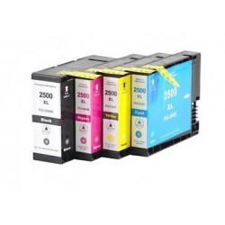 CANON PGI2500XL bläckpatroner multipack 4-pack kompatibla