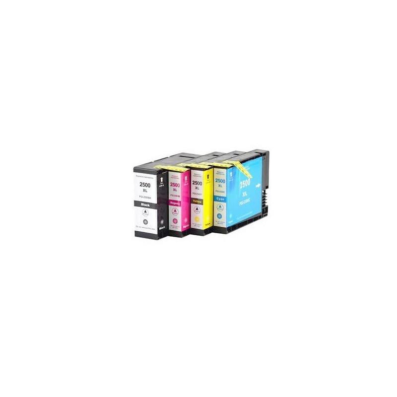 CANON PGI2500 XL 4-pack bläckpatroner multipack kompatibla