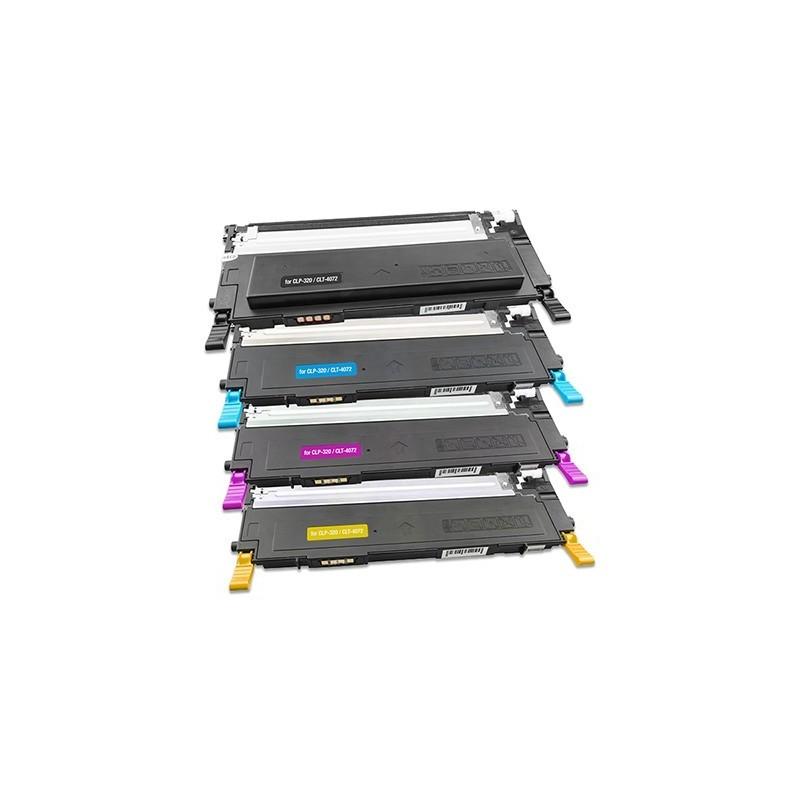 SAMSUNG CLTP4072 4-pack lasertoner set kompatibla
