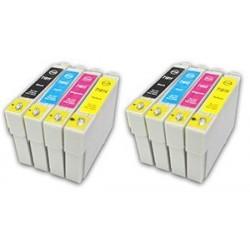 EPSON 18XL bläckpatroner multipack 8-pack kompatibla