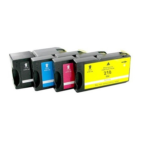 LEXMARK 200XL 210XL 4-pack bläckpatroner multipack kompatibla