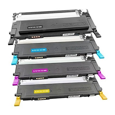 SAMSUNG CLTP4092 4-pack lasertoner set kompatibla