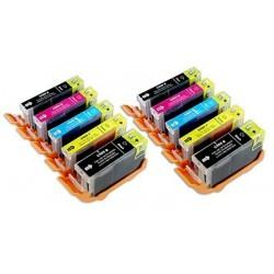 CANON PGI5 CLI8 bläck multipack 10 pack kompatibla